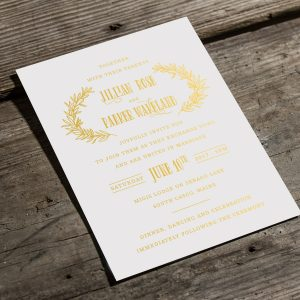 Invitations By Design- Digital Gold