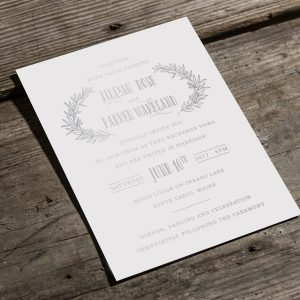 Invitations By Design- Digital Silver